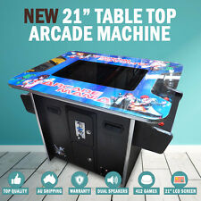 NEW 21? Arcade Machine Tabletop Upright Cocktail Video Game Pinball Pool Pacman