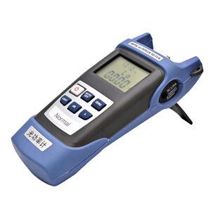 Handheld Fiber Optic Power Meter Tester Optical Light Source 800-1700nm FC/SC