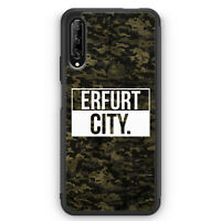 Erfurt City Camouflage Silikon Hülle für Huawei P Smart Pro Motiv Design Deut...