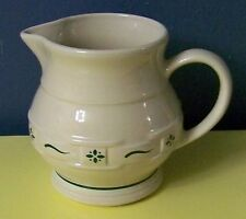 Longaberger Large Pitcher Traditional Green - 2 Quart - Made in Usa
