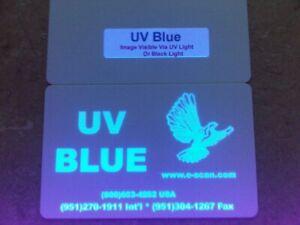 Zebra UV Blue Ribbon, 1000 prints - P330i, P430i, P520i - Made in USA