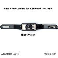 Rear View Camera Backup License Plate Night for Kenwood DDX-595 DDX595