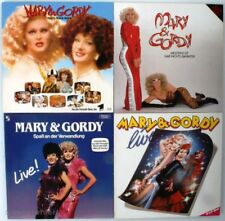 5 Stück Vinyl LP 12 Zoll Schallplatte Mary & Gordy Konvolut #101#