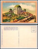 CALIFORNIA Postcard - Hollywood, Planetarium K60