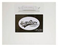 Splosh Personalise Signature 50th Birthday Photo Frame Keepsake Momento Gift