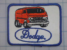 Vintage DODGE  patch  car  auto  racing   van   trucker