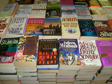 Lot of Fiction Paperbacks  WOMEN/FEMALE AUTHORS - 5 lbs FREE SHIPPING