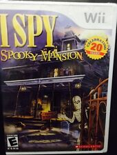 Nintendo Wii Game - I Spy: Spooky Mansion  - Holloween -  Brand New - Sealed