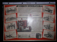 Prospekt sales brochure M 'cormick-International Farmall diesel df 25ps remolcador