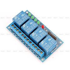 5V Canaux Relais Carte Module 4 Canaux LED Pour Arduino ARM PIC AVR DSP MSP430