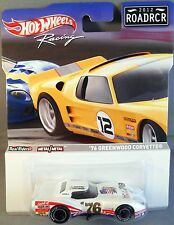 HOT WHEELS RACING 2012 ROADRCR '76 GREENWOOD CORVETTE CANADA RELEASE ONLY