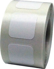 Square Shaped Stickers, 3/4 Inch Wide Labels, 500 on a Roll, 22 Color Choices