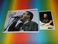 Bobby Kimball TOTO cantanti SIGNED FIRMATO Autografo foto 20x28 in persona