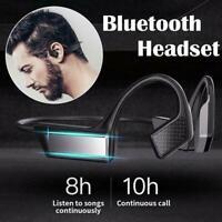 Bluetooth 5.1 Bone Conduction Headphone Wireless Music Stereo Earphone Z7U0