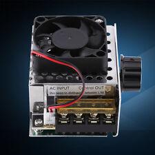 220V 4000W SCR Tensione Regolatore Regolatore Di velocità Motore + Ventilatore