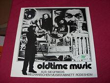 Oldtime Music Aus Siegfrieds Mechanischem Musikkabinett - Rüdesheim RARE LP