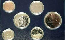 1982 Royal Canadian Mint Specimen Set, Original Case and C.O.A.