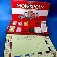 🌟 Waddingtons MONOPOLY Game 1993 Edition Complete Excellent + Instructions