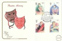 28 APRIL 1982 BRITISH THEATRE COTSWOLD FIRST DAY COVER RST STRATFORD U AVON SHS