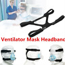 Black Health Care Headgear Comfort Gel Full Mask Replacement Part CPAP Head band