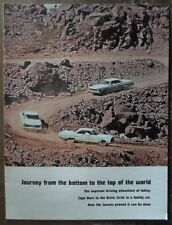 Mercury Comet ORIG 1964 1965 USA Marketing Publicité PROMO brochure