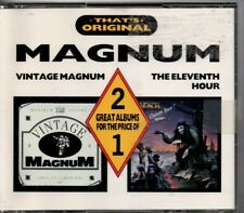 """MAGNUM - """"VINTAGE MAGNUM / THE ELEVENTH HOUR""""  (RARE '88 CASTLE 2 CD SET) FRANCE"""