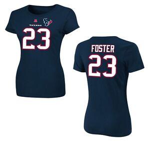 NFL Ladies Houston Texans Arian Foster 23 Navy Ladies Faircatch Jersey