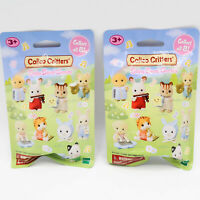 Calico Critters Baby Camping and Baby Band Series Blind Bag Lot of 2 New