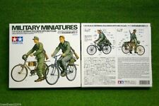 Tamiya WWII  GERMAN SOLDIERS WITH BICYCLES 1/35 Scale 35240