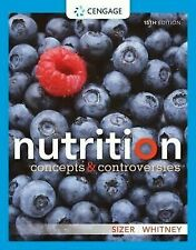 Nutrition Concepts And Controversies by Frances Sizer Webb.( Digitaldown)
