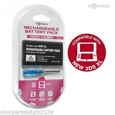 3DS XL Replacement Rechargeable Battery Pack w/ Screwdriver Brand New USA Seller