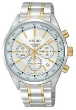 SCNP SSB043P1 Seiko Gents Chronograph Two Tone Bracelet Watch