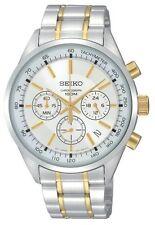 Reloj De Pulsera SCNP SSB043P1 Seiko Caballeros Cronógrafo dos tonos