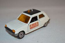 Norev Jet car Renault 5 white SOS MEDECIN in excellent plus condition