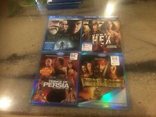 4 Blu-Ray Fantasy Movies WOLFMAN Pirates of the Caribbean PRINCE OF PERSIA Jonah