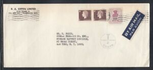 CANADA Commercial Cover Willowdale to New York City 3-8-1967 cancel