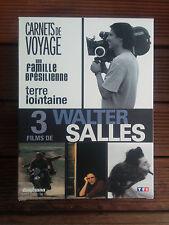 Coffret 3 films Walter Salles-Carnets voyage-famille brésilienne-terre lointaine
