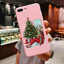 Phone Case Iphone 11 Pro Max X Xr Xs 6 6s 7 8 Plus Soft Tpu Back Cover Christmas