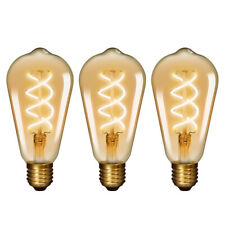 Lampadine LED a Filamento Edison E27 ST64 Decorative Vintage LED 5W 450Lm 2500K