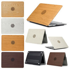 """Wooden Hard PC Slim Shell Case Cover for MacBook Air 11"""" Pro 13"""" 15"""" Retina 12"""""""