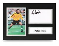 Peter Rufai Signed A4 Photo Display Mexico Autograph Memorabilia + COA