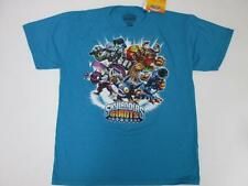 SKYLANDERS GIANTS KIDS BOYS BLUE ORANGE BLACK RED S/S TOP T SHIRT XL NWT