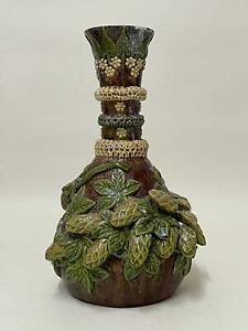 Rare Early Rye Pottery 'Hop-Ware' Vase - Excellent Large Example