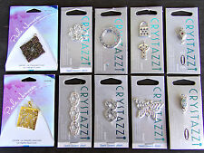 LOT OF 10 New Pendant CHARM JEWELRY - MAGNETIC ~ CRYSTAZZI ~ PERLE NOUVEAU ~ Z1
