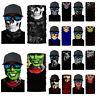 Unisex Balaclava Gaiter Neck Face Mask Cover Tube Scarf Snood Bandana Halloween
