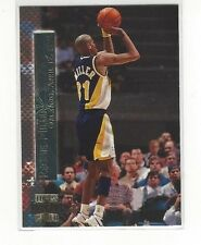 1996-97 TOPPS STADIUM CLUB BASKETBALL SHINING MOMENTS REGGIE MILLER #SM7 PACERS