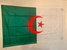 Drapeau ALGERIE / ALGERIEN / 145 cm X 90 cm / Livraison gratuite