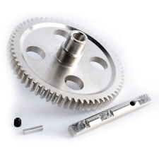 RC 0015 Silver Metal Center Reduction Gear 62T Fit WLtoys 1/12 12428 12423