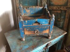 Antique indian Shrine Chest With Drawer