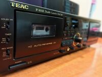 TEAC Cassette Player Deck (Model W-860R)